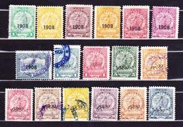 Paraguay 1908-09, Wappenlöwe - Paraguay