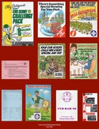EL0188   Collection X10 Interesting Cub Scout Related Ephemera From 1970's/80's/90's Era - Scouting