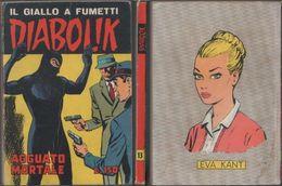 Diabolik - Agguato Mortale. Seconda Serie. 13/1965.  Astorina Diff. Sodip - Diabolik