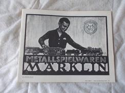 MARKLIN Catalogue De Jouet Metallspielwaren Train Modélisme - Libri, Riviste, Fumetti