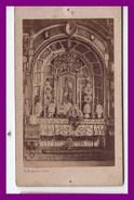 Photographie Cdv  *  Sainte Anne D'auray   L'autel ( Photo J Duclos à Lorient  ) - Luoghi