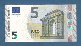 IRLANDA - 2013 - BANCONOTA DA 5 EURO FIRMA DRAGHI SERIE TC (T001F6) - NON CIRCOLATA (FDS-UNC) - IN OTTIME CONDIZIONI. - 5 Euro