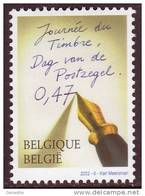 Belgique COB 3063 ** (MNH) - Journée Du Timbre 2002 - Belgique