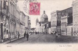BAHIA - Rua De S. Pedro - 1910 - Salvador De Bahia