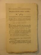 BULLETIN DES LOIS De 1811 - ORGANISATION DE LA CORSE - LIEGE BELGIQUE - PRISONNIERS DE GUERRE - POIDS MESURES HOLLANDE - Wetten & Decreten
