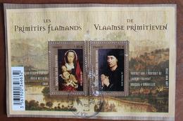 2012  -    PEINTRES  PRIMITIFS  FLAMMANDS  OBLITERE  CACHET  ROND  MANUEL - Gebraucht