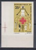 Haute Volta Upper Volta 1966  N° 159  Croix Rouge Imperf MNH - Haute-Volta (1958-1984)