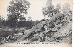 NANTEUIL Le HAUDOUIN  ( 60 ) - La Pierre Glissoire - Nanteuil-le-Haudouin