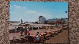 CPSM AEROPORT AIRPORT HANNOVER FLUGHAFEN  AVION - 1946-....: Moderne