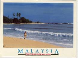 MALAYSIA TANJONG JARA TERENGGANU BEAUTY AND THE BEACH NICE STAMP - Malaysia