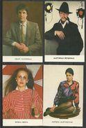 Calendars, 4 Small 1988 Year, Latvia. UdSSR - Calendars