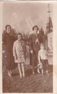 FAMILIA/FAMILY/FAMILLE, MUJERES/FEMMES/WOMEN,NIÑA/FILLE/GIRL Y NIÑO/BOY/GARÇON CIRCA 1920S 14X9CM APROX - BLEUP - Anonymous Persons