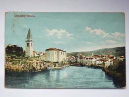 LUSSINO Lošinj Dalmazia Croazia Hrvatska LUSSINGRANDE AK Postcard Cartolina Veduta - Croazia