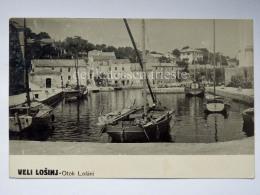 LUSSINO Lošinj Dalmazia Croazia Hrvatska LUSSINGRANDE AK Postcard Cartolina Barche Boat - Croazia