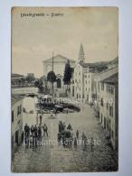 LUSSINO Lošinj Dalmazia Croazia Hrvatska LUSSINGRANDE AK Postcard Cartolina  Animata SUPER - Croazia