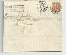 Document Bancaire Avec 15c Merson N° 115......+.... Timbre QUITTANCE Fiscal N° 11..perforés   C   PARIS Le 31/10/1901.. - Fiscaux