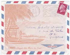 Lot De 3 Enveloppes Timbrées TAHITI Poste Aux Armées - Tahiti (1882-1915)