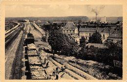 89-PONT-SUR-YONNE- LA NOUVELLE GARE DES MARCHANDISES , LA LAITERIE , LES SILOS COOPERATIFS - Pont Sur Yonne