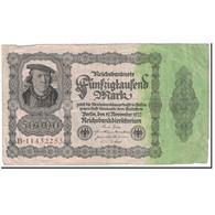 Allemagne, 50,000 Mark, 1922, KM:79, 1922-11-19, TB+ - [ 3] 1918-1933 : Repubblica  Di Weimar
