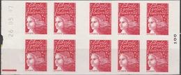 3085 C 1 MARIANNE 14 JUILLET - DATE HAUTE 26.05.97 + R.E. - Booklets