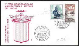 "Spagna/Spain/Espagne: ""Textilhogar '76"", Manufacturas Textiles - Tessili"