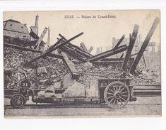 LILLE RUINES DU GRAND HOTEL - Lille