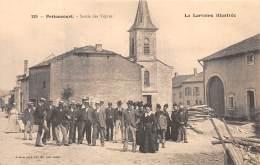 57 - MOSELLE / 571168 - Pettoncourt - Sortie Des Vêpres - Beau Cliché Animé - Other Municipalities