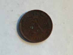 Belgique 2 Cent 1911 Centimes - 02. 2 Centimes