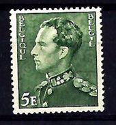 Belgie - Belgique 433b  GEELGROEN - Met Plakker - Charnière - 1936-51 Poortman
