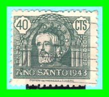ESPAÑA   SELLO  AÑO SANTO 1943  VALOR  40 Cts. - 1931-Heute: 2. Rep. - ... Juan Carlos I