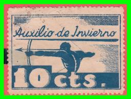 AUXILIO DE INVIERNO. 10 CTS. VIÑETA / LOCAL GUERRA CIVIL - Fiscales