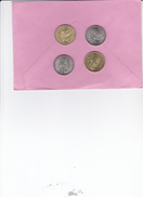 EURO DE CHAMBERY  1997   JUMELAGE CHAMBERY TURIN  LES   4  PIECES DIFFERENTES  2 DE 1 EURO ET 2 DE 2 EURO - Frankreich