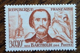 France - YT N°1212 - Bartholdi - 1959 - Neuf - Ongebruikt