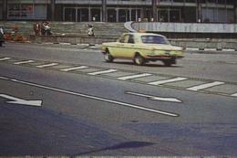 Georgia, Tbilisi. Concert Hall -  OLD USSR PC 1983 TAXI Car - Taxi & Carrozzelle