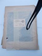 LOT TABLEAUX ESTAMPES GRAVURES CHROMO REVUE ILLUSTRATION Dont Albert Guillaume Timbre Cachet Journaux Paris PP20 1908 - Stampe & Incisioni