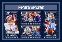Central Africa 2017 Princess Charlotte - Central African Republic