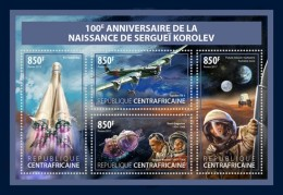 Central Africa 2017 Space Sergei Korolev - Central African Republic