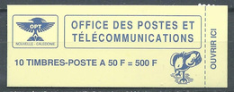 Nouvelle Calédonie Carnet YT N°C588 Le Cagou Neuf ** - Booklets