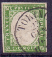 Sardaigne N° 10 Oblitéré - Sardaigne
