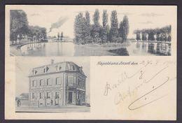 AK 1901, Rixheim, Wirtschaf/Restaurant Zur Napoleoninsel - Mulhouse