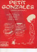 92-NEUILLY SUR SEINE - PARTITION MUSIQUE- PETIT GONZALES-SPEEDY-DANYEL GERARD-DAVID HILL-ETHEL LEE-BUDDY KAYE-CARAVELLE - Scores & Partitions