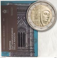 "San Marino (Saint Marin) 2017 : 2 Euro Commémorative ""Giotto"" (en Coffret BU) - DISPONIBLE EN FRANCE - San Marino"