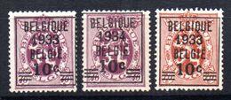 Serie Nº 375/6 Belgica. - Belgium