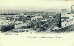MARSEILLE - Les Bassins De La Joliette - Joliette, Zone Portuaire