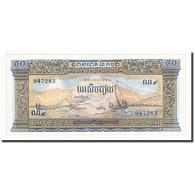 Cambodge, 50 Riels, UNDATED (1956-75), KM:7d, SPL+ - Cambodia
