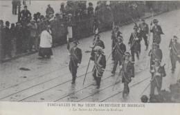 Evènements - Funérailles - Religion - Monseigneur Lecot Bordeaux - Gardes-Suisses - Funérailles