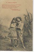 Illustrateur BERGERET - PAUL Et VIRGINIE ( Dos Non Divisé ) - Bergeret