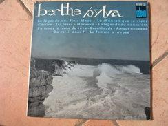 """33 Tours 25 Cm - BERTHE SYLVA  -  ODEON 1240  """" LA LEGENDE DES FLOTS BLEUS """" + 9 - Discos De Vinilo"""