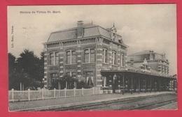 Virton St. Mard - La Station - 1910 ( Voir Verso ) - Virton