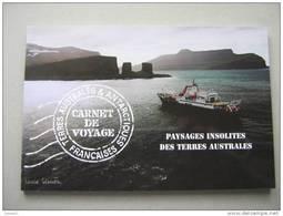 TAAF  CARNET PAYSAGES INSOLITES  C478 * *  Nos  YT P  478/493 - Carnets